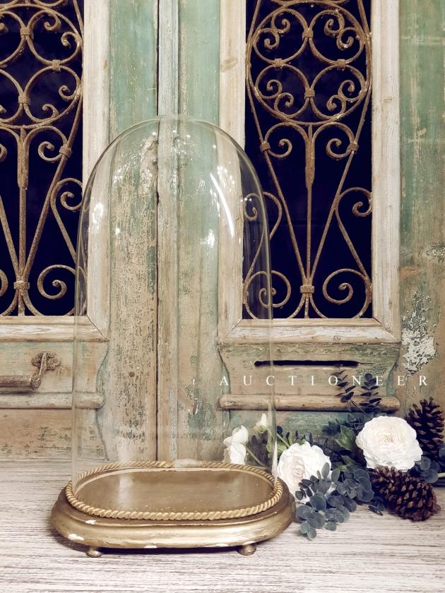 1900年代<br>法國手工玻璃鐘罩 3