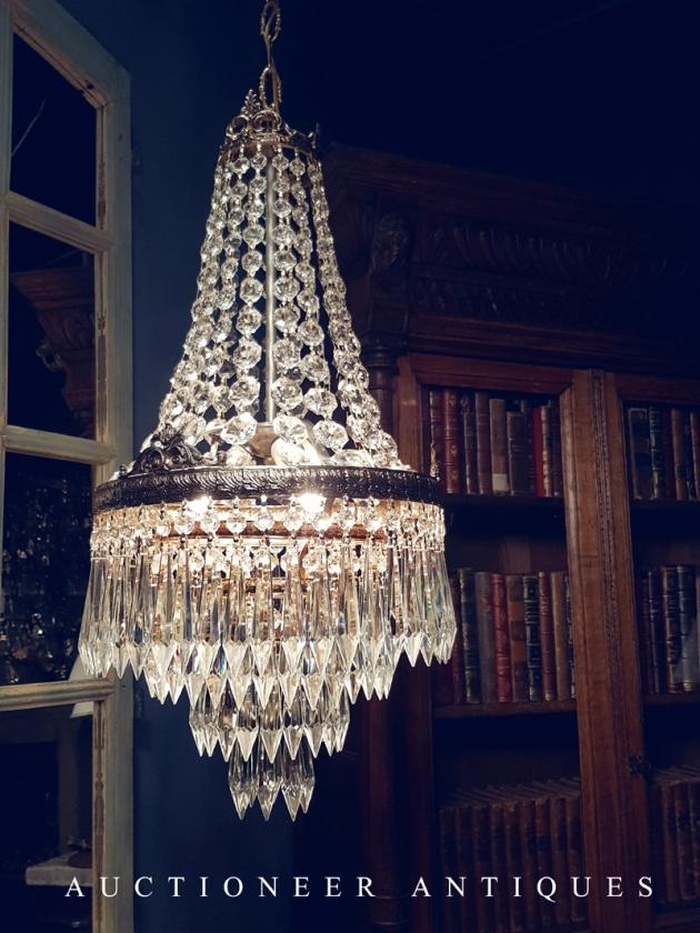 1950年代<br>法國Empire水晶燈 2