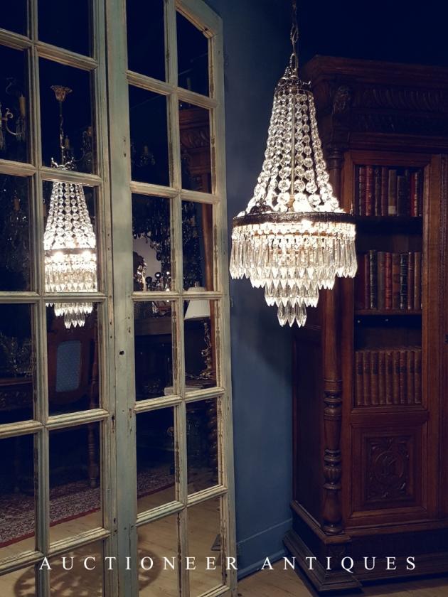 1950年代<br>法國Empire水晶燈 3