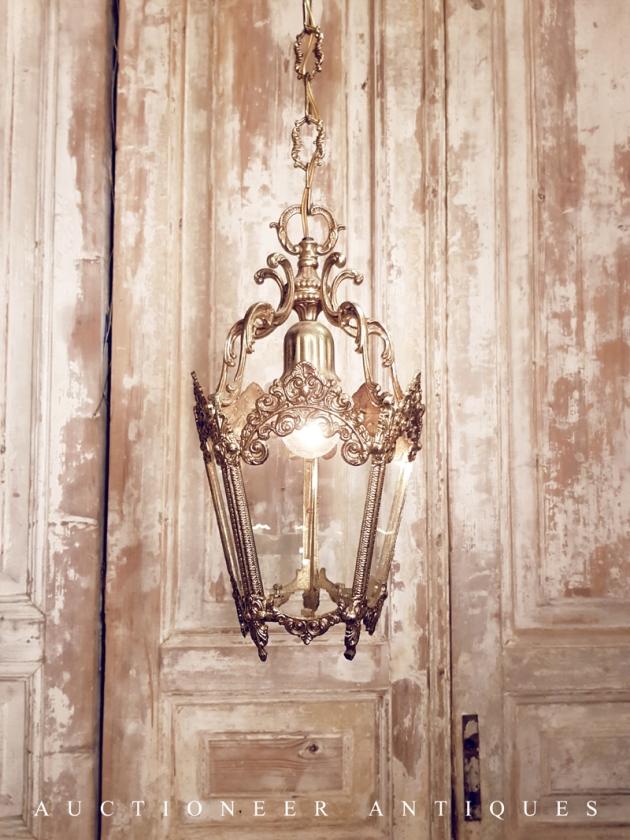 1950年代<br>法國黃銅馬車燈 1