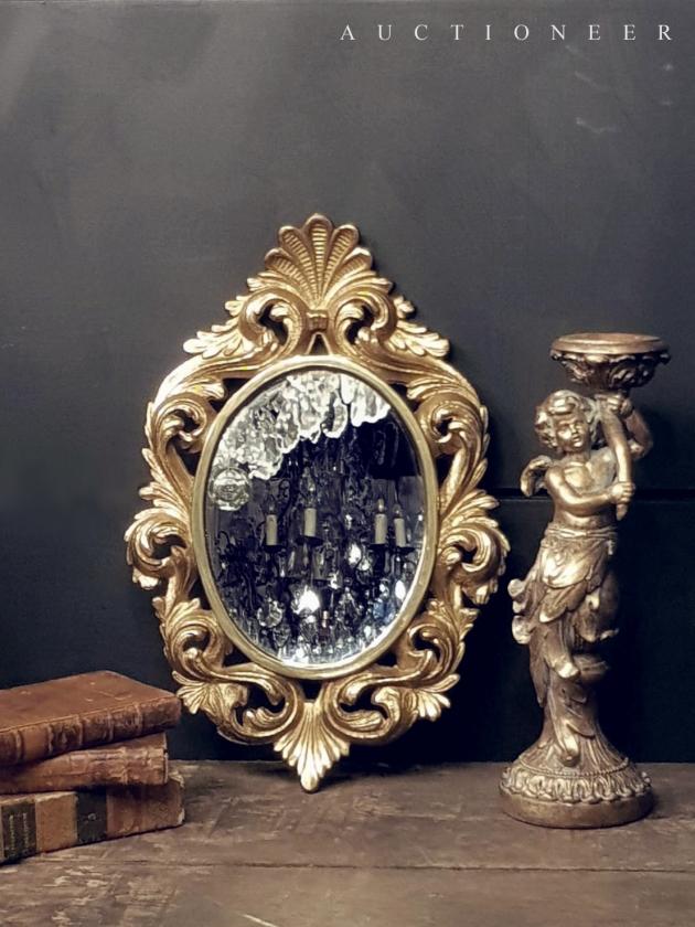 1950年代<br>義大利黃銅鏡 1