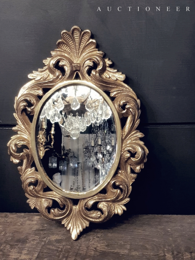 1950年代<br>義大利黃銅鏡 3