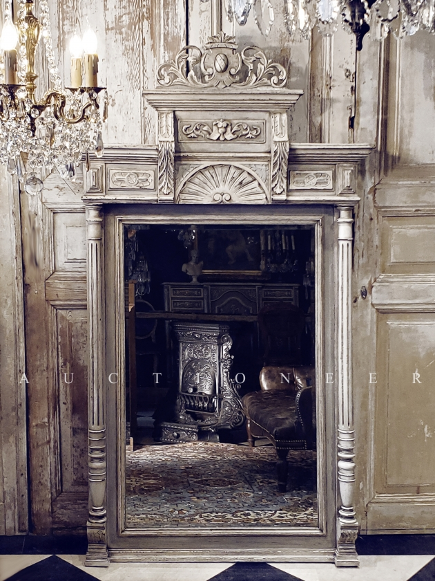 1900年代<br>法國文藝復興掛鏡 1