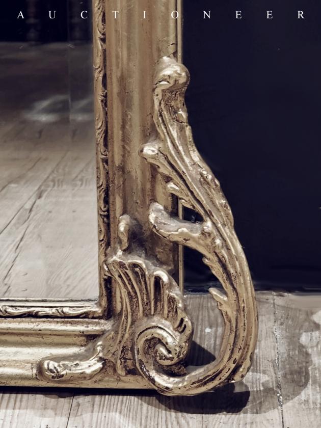 1950年代<br>法國實木全身鏡 4