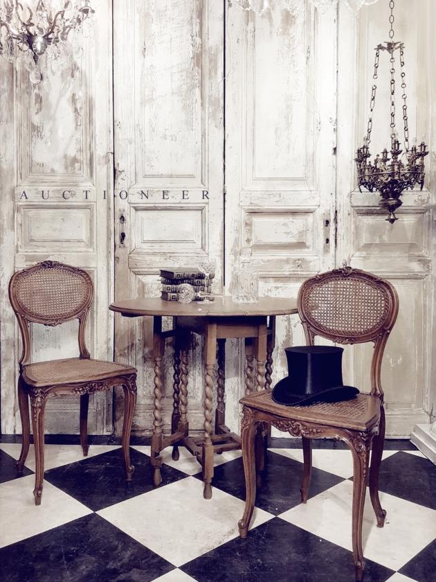 1930年代<br>法國鄉村折疊桌 1