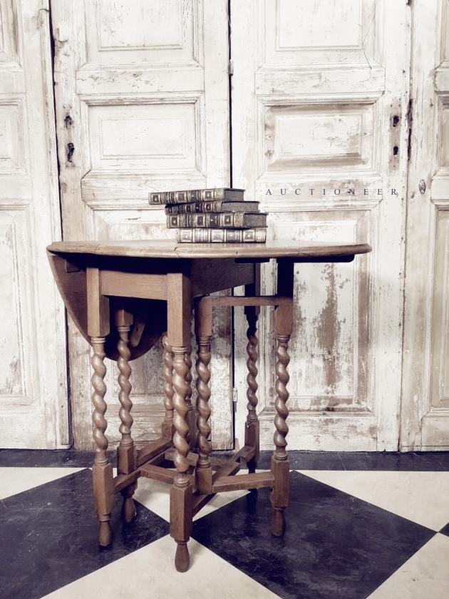 1930年代<br>法國鄉村折疊桌 2