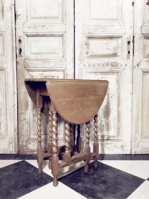 1930年代<br>法國鄉村折疊桌 3