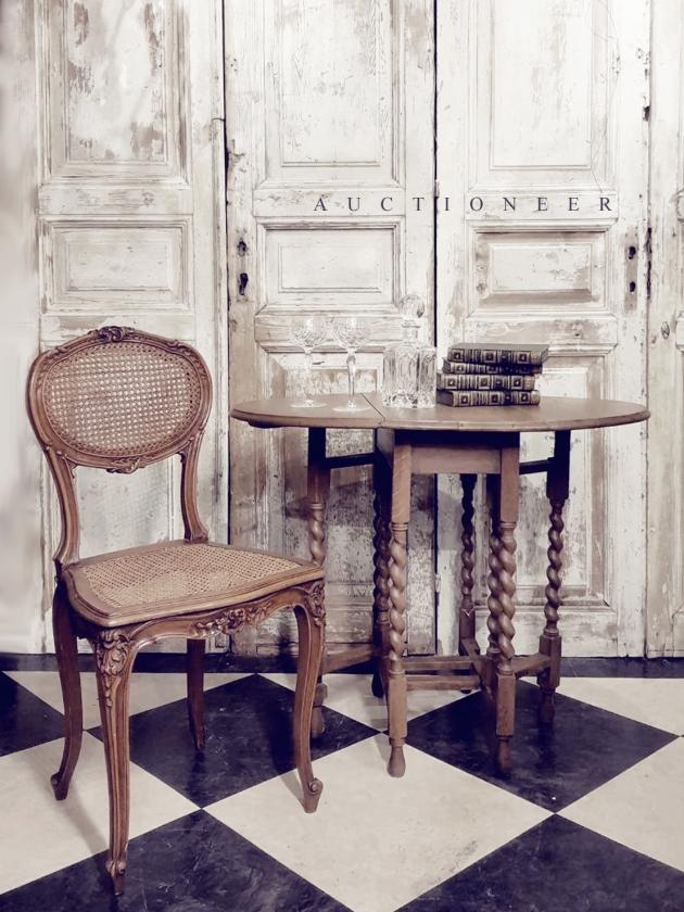 1930年代<br>法國鄉村折疊桌 4